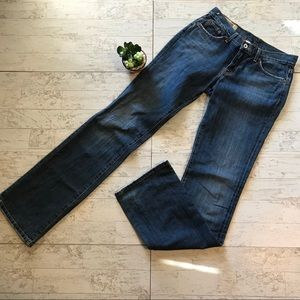 Lucky Brand Classic Rider Jeans Long Inseam Sz 4